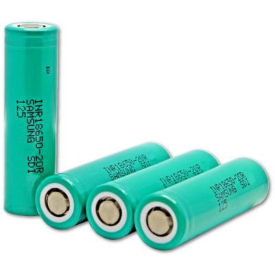Аккумулятор 18650 Samsung INR18650-20R 2000 mAh Li-Ion
