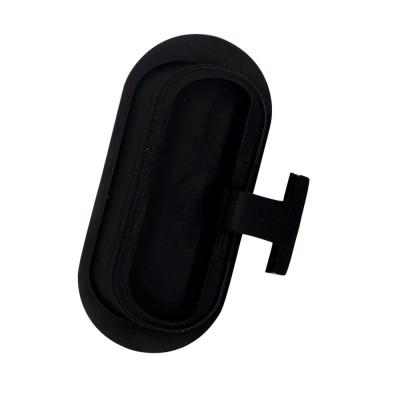 Заглушка резиновая разъема зарядки для Ninebot E черная
