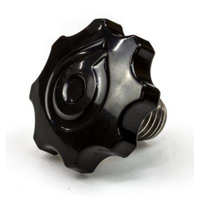 Крепеж рулевой штанги черный для Ninebot E+