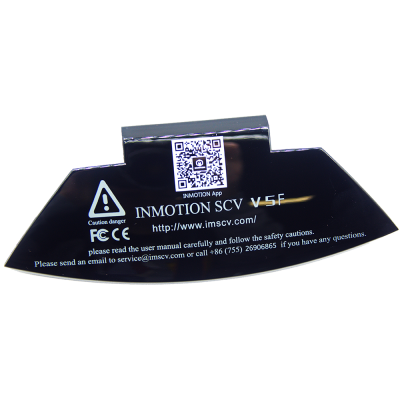 Защитная крышка ниппеля моноколеса Inmotion V5 V5F Black